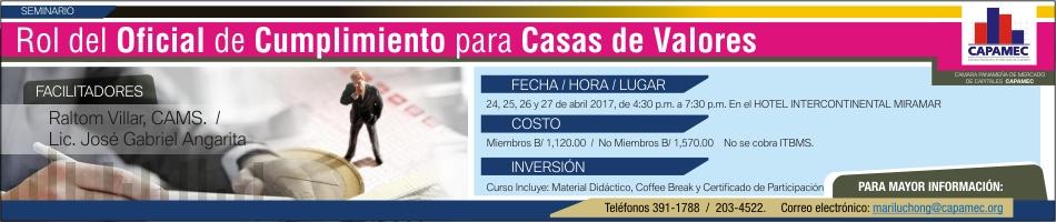BOLSA DE VALORES banner sem Rol Oficial Cumplimiento 950 x 200 px Bolsa de Valores (002)