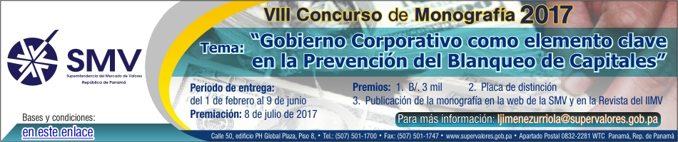 Concurso Monografia 2017 950 x 200 px Bolsa de Valores
